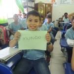 Palavra escolhida pelo alunos.