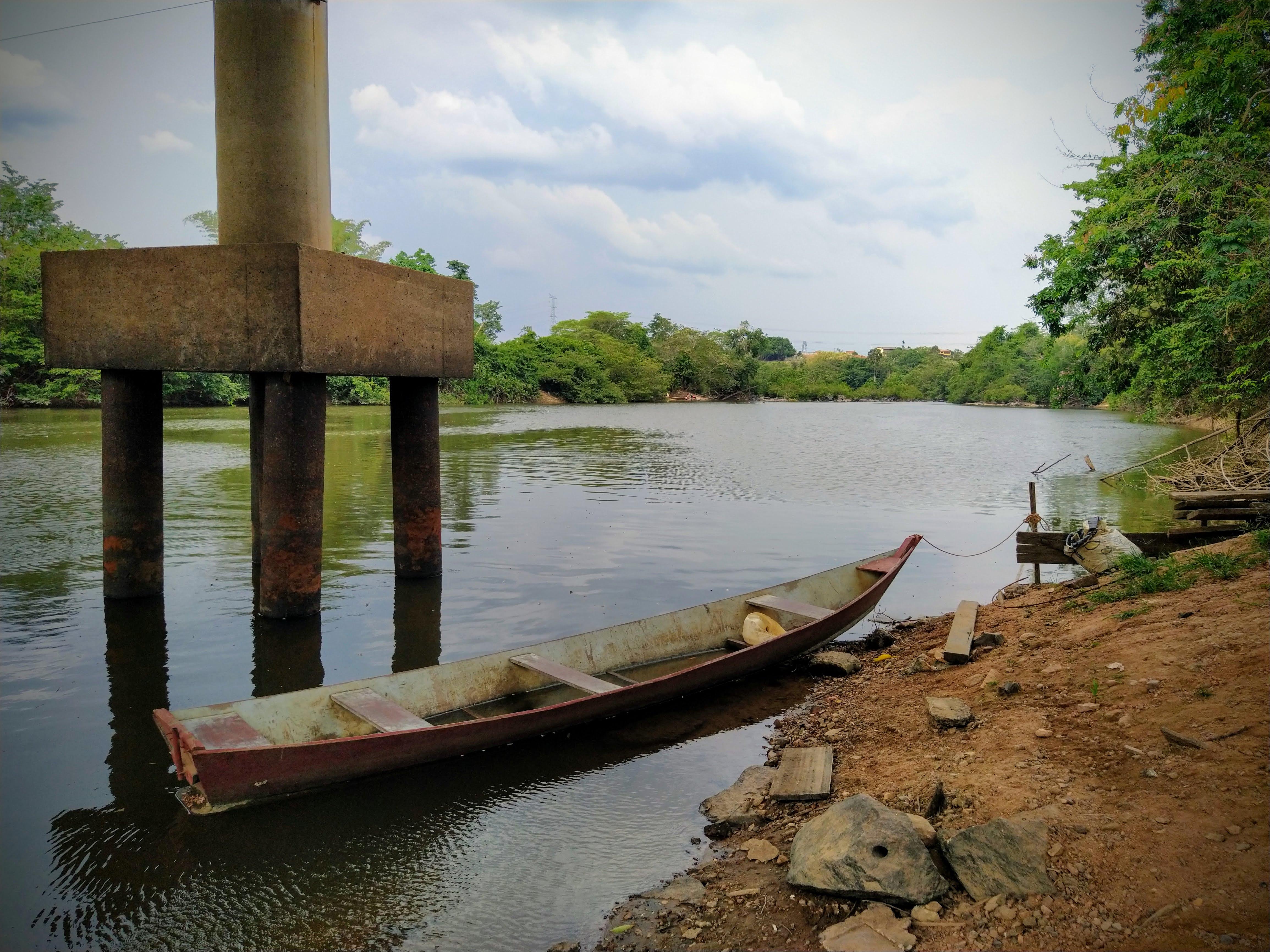 Pilar de sustentação Ponte sobre o Rio Anapú